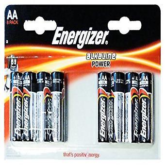 Alkáli elemek Energizer E300128000 AA LR6 (8 uds)