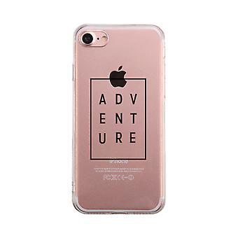 Avventura telefono semplice trasparente caso carino chiaro Phonecase