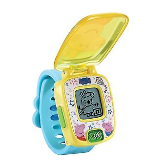 Science exploration sets peppa pig learning watch with alarm  timer  stopwatch and built-in games