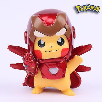 Iron Man Pikachu Hands-on Boy Spot