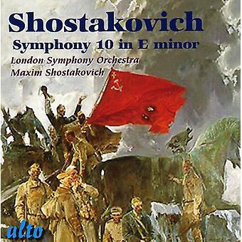 D. Shostakovich - Shostakovich: Importación Sinfonía nº 10 [CD] Estados Unidos