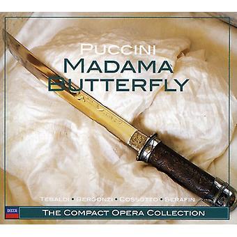 G. Puccini - Puccini: Importación Madama Butterfly [CD] Estados Unidos
