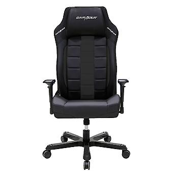 DX Racer DXRacer OH/BF120/N Big and Tall Executive Chair Leather Style Vinyl(Black)
