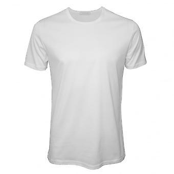 Ermenegildo Zegna Filoscozia De Luxe gola camiseta, branco