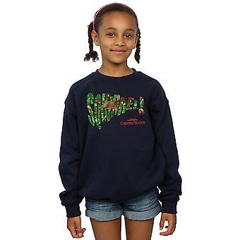 National Lampoon's Christmas Vacation Girls Squirrel Tree Sweatshirt