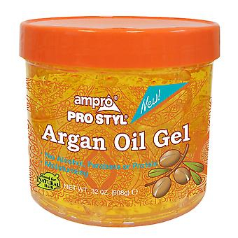 Ampro Moisturizing Styling Gel – Argan Oil 32oz