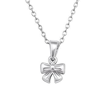 Bow - 925 Sterling Silver Necklaces - W28739X