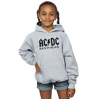 AC/DC Girls Back in Black Logo Hoodie