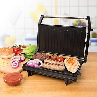 2 Slice Panini Toasted Sandwich Toastie Maker & Health Grill 700W