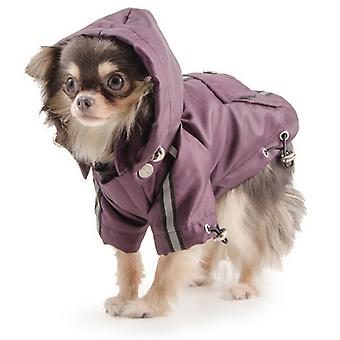Ancol Pet Products Small Bite Hooded Waterproof Dog Jacket