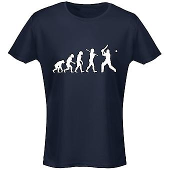 Cricket Evo Evolution Womens T-Shirt 8 Colours (8-20) by swagwear