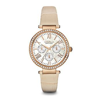 Caravelle New York Women's 44N105 Crystal Strap Bracelet
