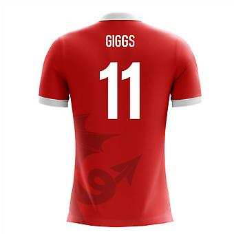 2020-2021 Wales Airo Concept Home Shirt (Giggs 11)