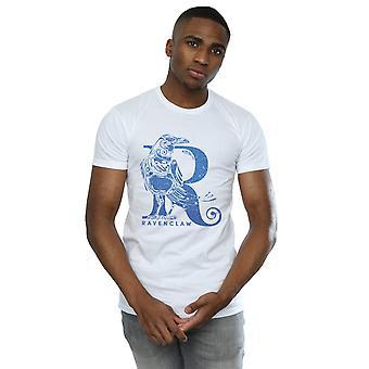 Harry Potter Men's Ravenclaw Glitter T-Shirt
