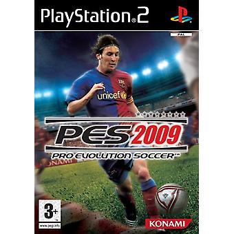 Pro Evolution Soccer 2009 (PS2) - Ny fabrik förseglad
