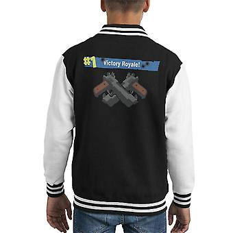 Victory Royale Fortnite Kid's Varsity Jacket