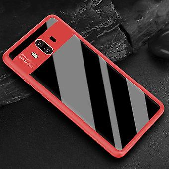 Original ROCK bumper case for Huawei mate 10 protective accessory bag cover case red new