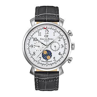 Carl of Zeyten men's watch wristwatch quartz Urach CVZ0015SL