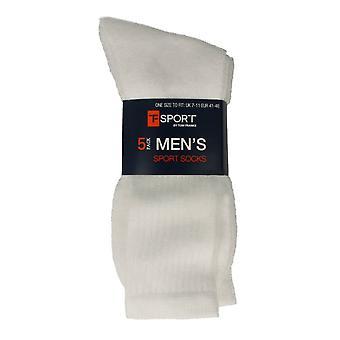 Mens T-Sport By Tom Franks 5 Pack of Sport Socks
