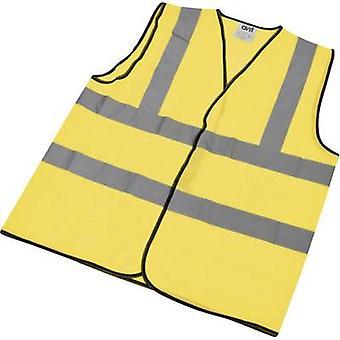 AVIT AV13100 AVIT Hi-Vis vest gul (XL) størrelse = XL gul