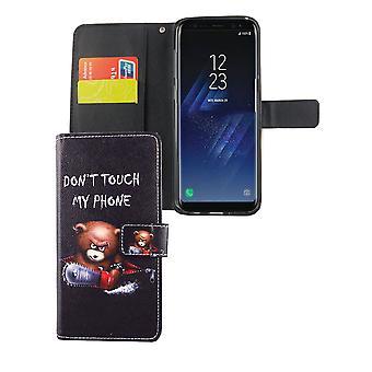 Mobiele telefoon geval zakje voor mobiele Samsung Galaxy S8 + plus logo dragen met kettingzaag