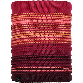 Buff Neper Knitted Neck Warmer in Bright Pink