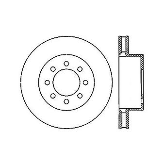 StopTech 127.65112R Sport Drilled/Slotted Brake Rotor (Front Right), 1 Pack