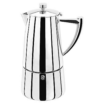 Stellar Art Deco, 6 kopp Espresso Maker, 375ml