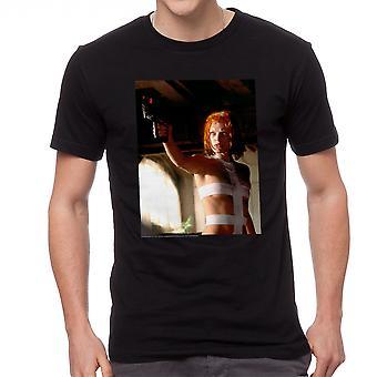 The Fifth Element Leeloo Scene Men's Black T-shirt
