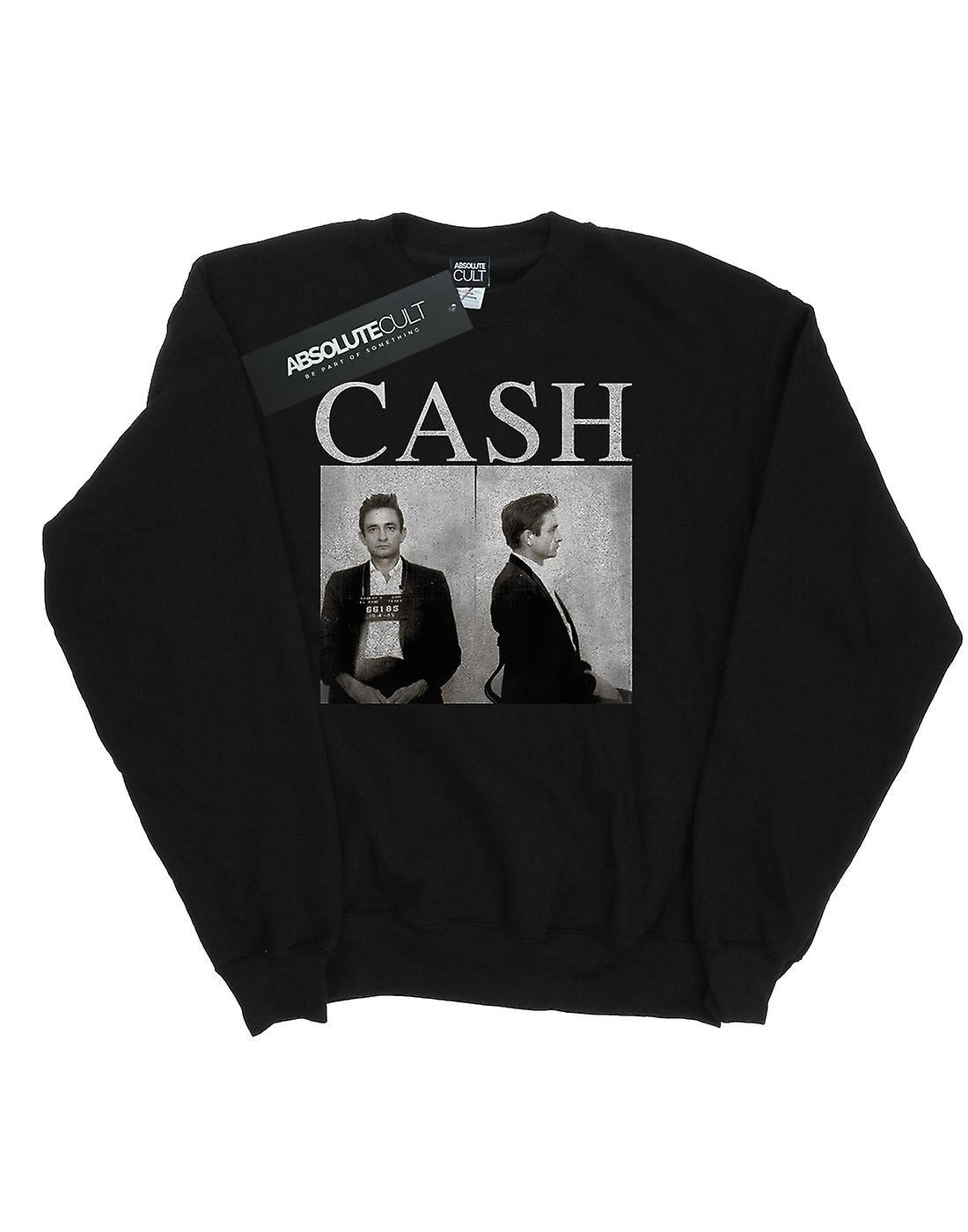 Johhny Cash Men's Mug Shots Sweatshirt