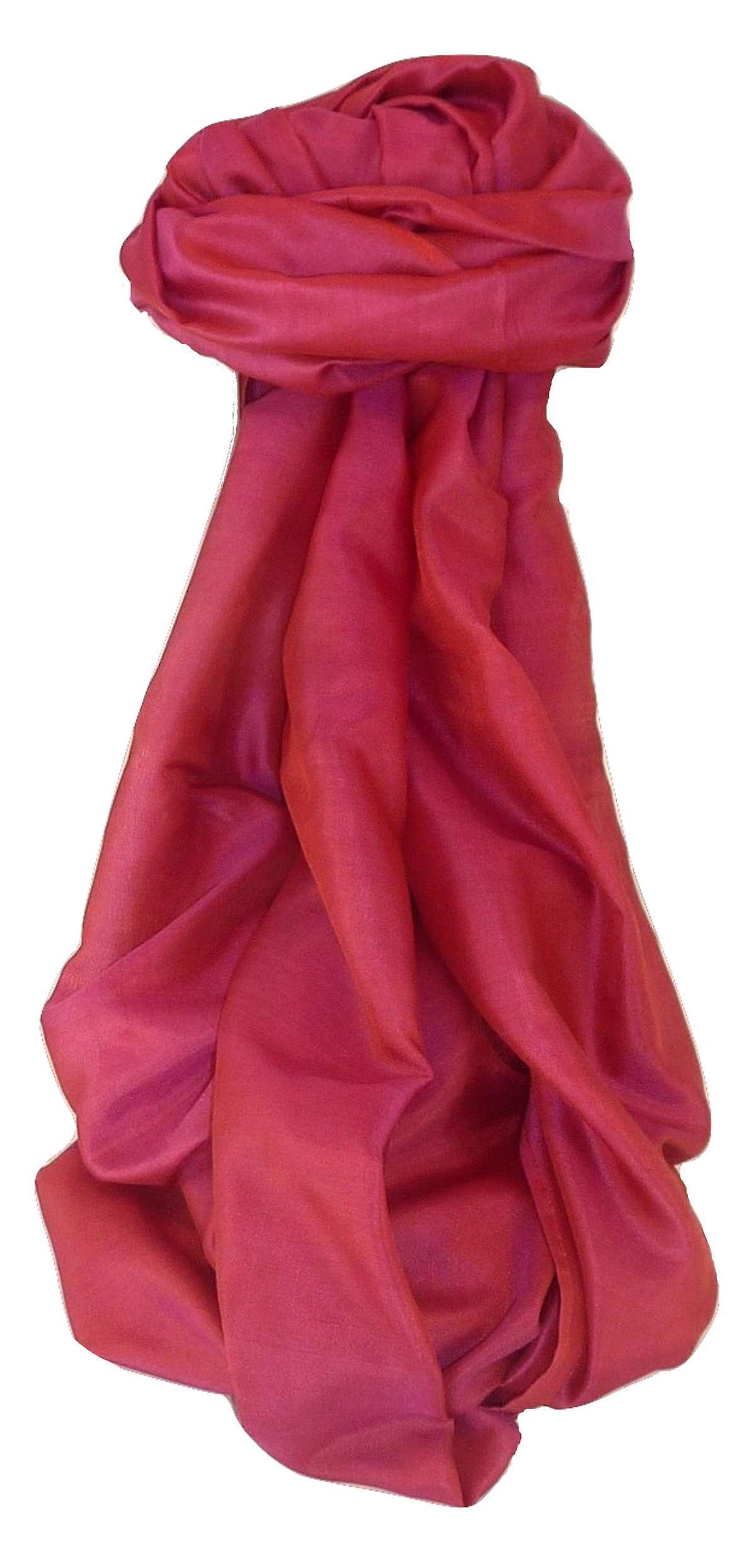 Varanasi Silk Long Scarf Heritage Range Gunneswaran 5 by Pashmina & Silk