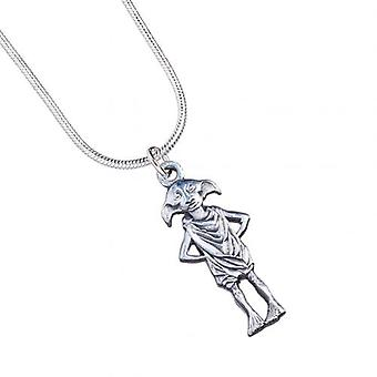 Harry Potter Silver Plated Necklace Dobby House Elf