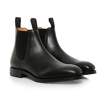 Loake couro Chatsworth Chelsea Boots
