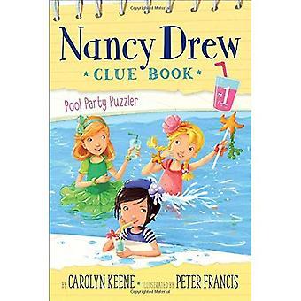 Pool Party Puzzler (livre de Nancy Drew Clue)