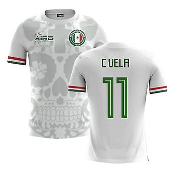 2018 / 2019 Mexiko Away Konzept Fußballtrikot (C Vela 11) - Kinder