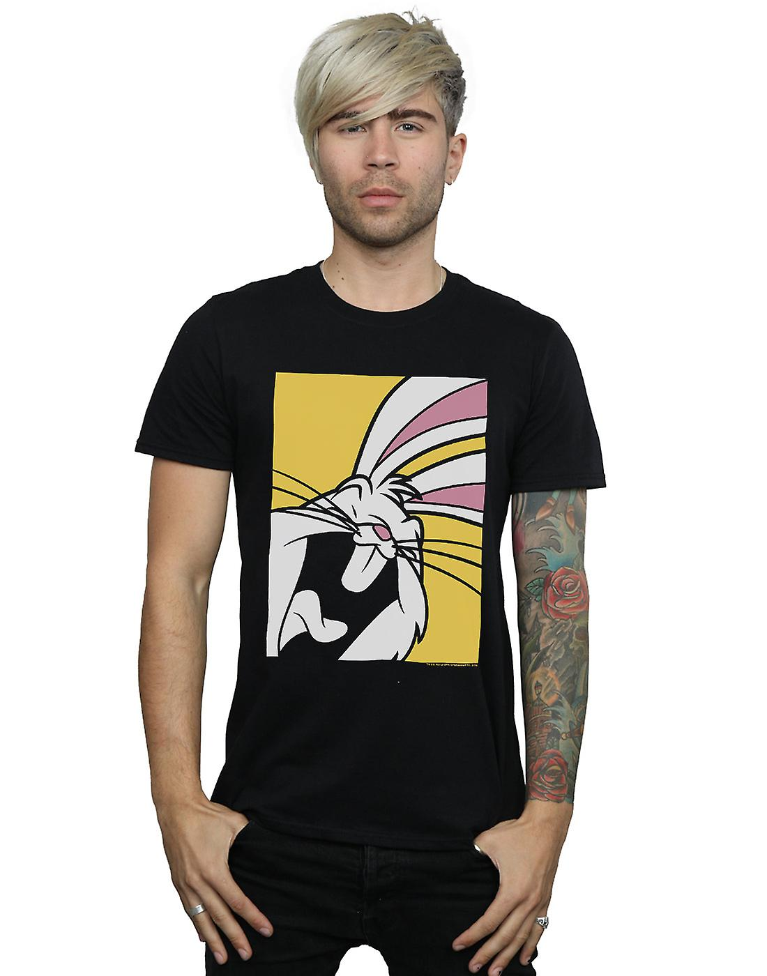 Looney Tunes Men's Bugs Bunny Laughing T-Shirt