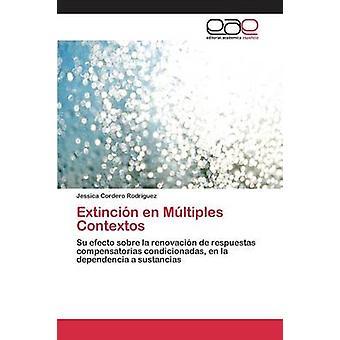 Extincin en Mltiples Contextos by Cordero Rodrguez Jessica
