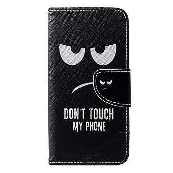 Huawei P30 Wallet Case-Raak mijn telefoon niet aan