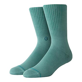 Stance Icon Crew Socken in Seagreen