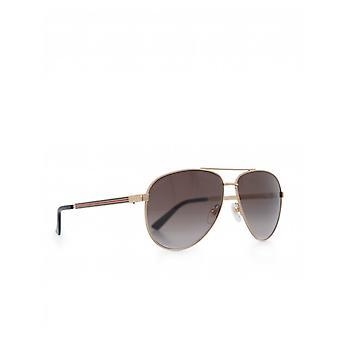Gucci eyewear metal Aviators