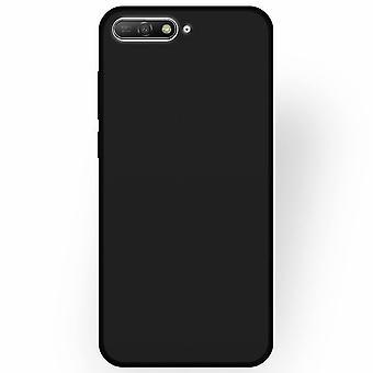 ソフト TPU シェル ファーウェイ ファーウェイ Y6 2018 ブラック