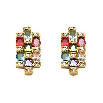 Ah! Jewellery Sapphire Multi Crystal from Swarovski Earrings