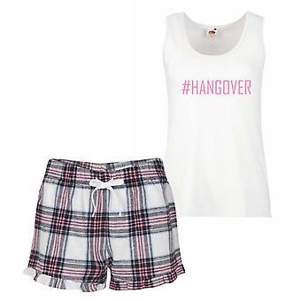 #Hangover Pink Tartan Pyjamas