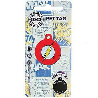 Tebeos de la C.C. Pet etiqueta el Flash