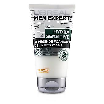 L'oreal Men Expert Hydra Sensitive Cleansing Foaming Gel - 150ml/5oz