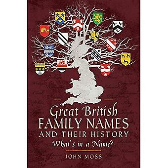Great British Family Names and Their History: What's in a Name?