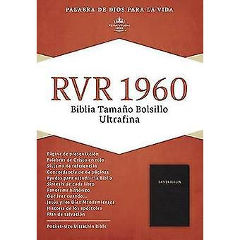 Bible Rvr 1960 Pkt Blk by Bible - 9781558196223 Book