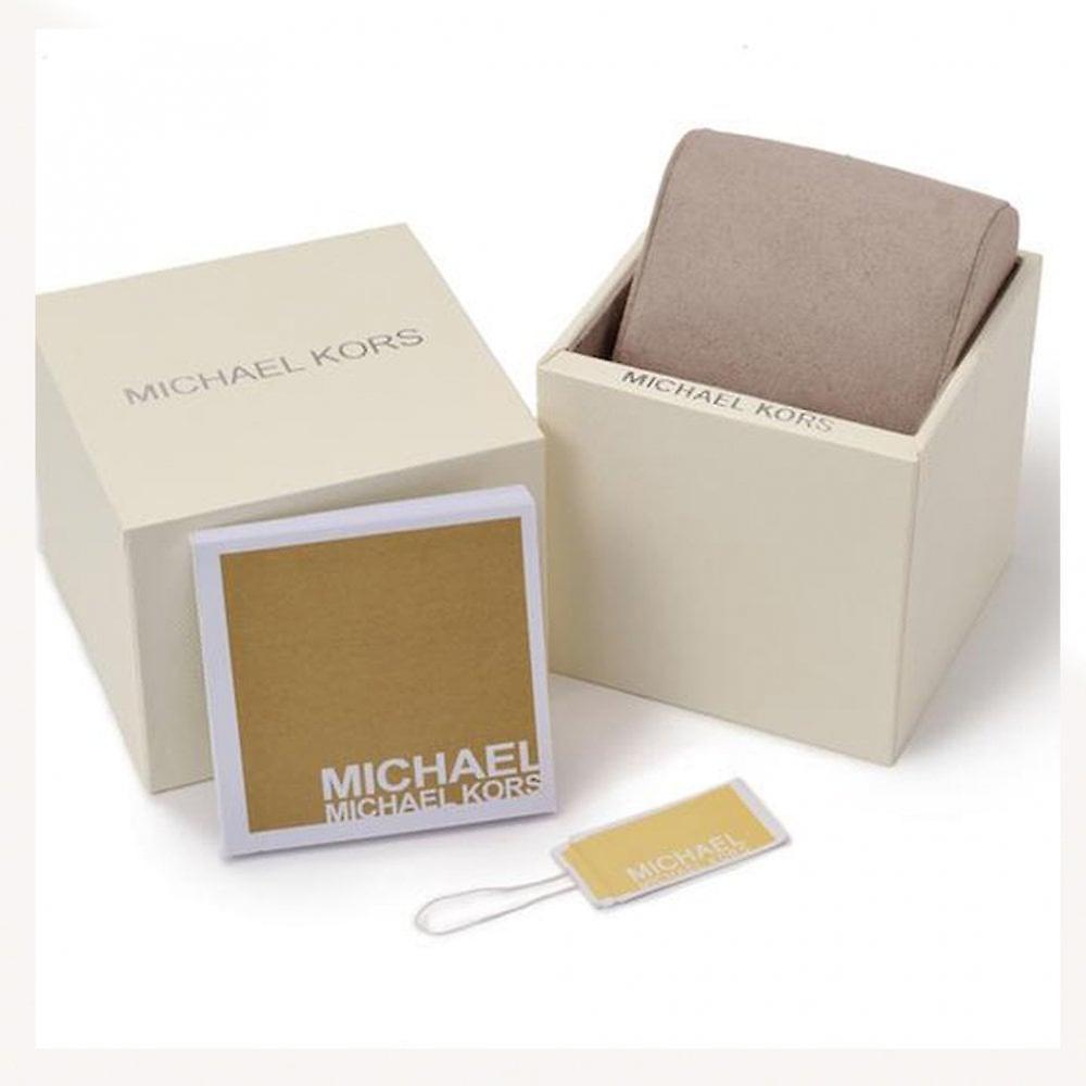 مايكل Kors ساعات Mk4322 ديلراي كريستال & روز الذهب لهجة الفولاذ المقاوم للصدأ السيدات ووتش