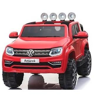Licensed VW Volkswagen Amarok 12V Ride On Car With Leather Seat Red