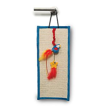Catit Play Pirates Catnip Door Scratcher